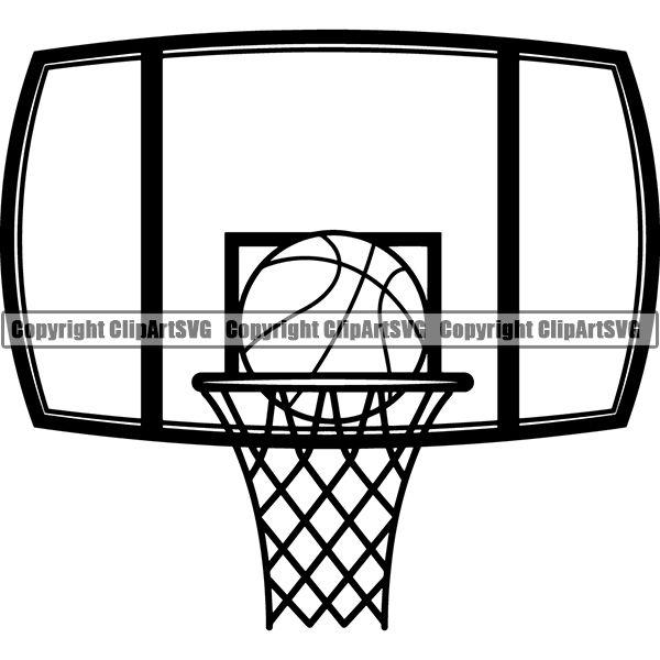 Basketball with scratches going through it clipart graphic transparent stock Basketball – ClipArt SVG graphic transparent stock