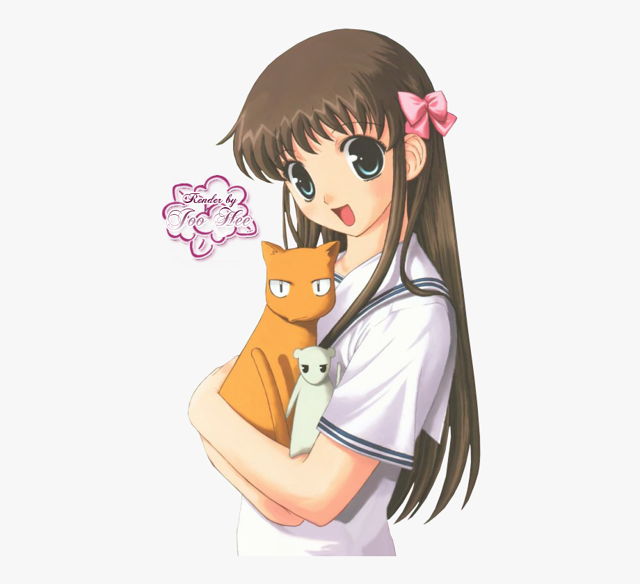Baskets of love clipart banner free stock Tohru Honda Fruits Basket I Love Her - Fruits Basket Render #1972911 ... banner free stock