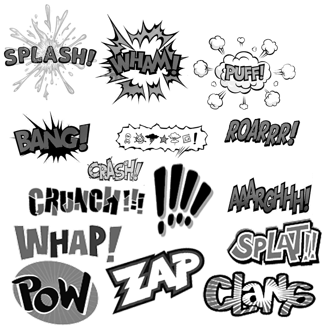 Free comic book style clipart library Pinceles photoshop: onomatopeyas comics | Comic | Pinterest | Comic ... library