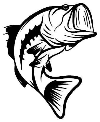 Bass clipart black and white picture transparent Bass Clipart Black And White (91+ images in Collection) Page 1 picture transparent