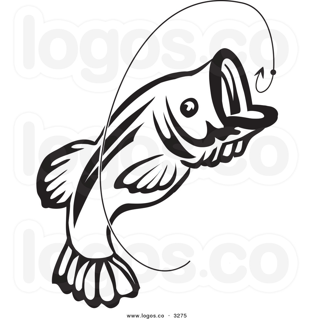 Bass clipart black and white image freeuse stock Bass Fish Clipart Black And White | Free download best Bass Fish ... image freeuse stock
