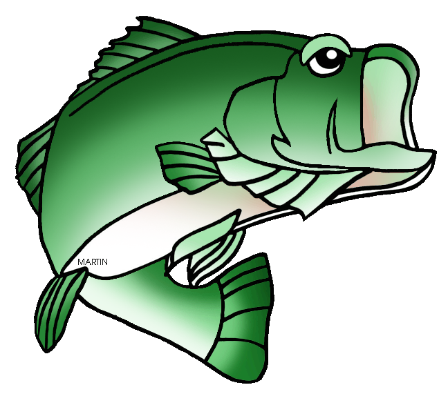 Bass fish clipart png graphic library United States Clip Art by Phillip Martin, Tennessee State Sports ... graphic library