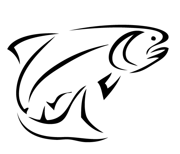 Bass fish outline clipart svg library Best Bass Fish Outline #18245 - Clipartion.com svg library