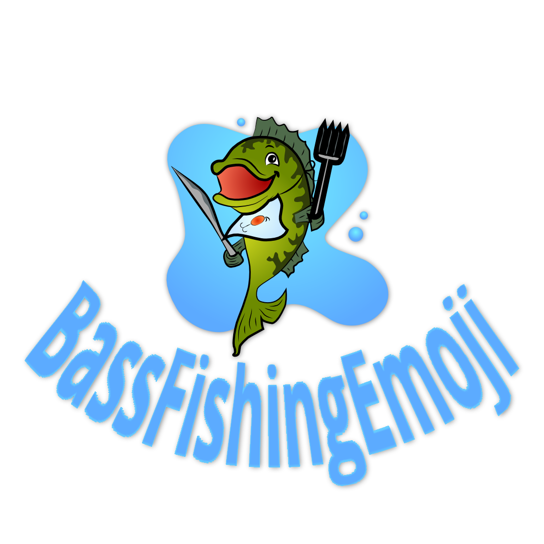 Bass fish png clipart clip black and white About | Bass Fishing Emoji clip black and white