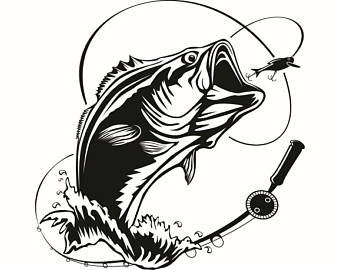 Bass fishing clipart clip royalty free download Trout clipart bass fishing pencil and in color trout – Gclipart.com clip royalty free download