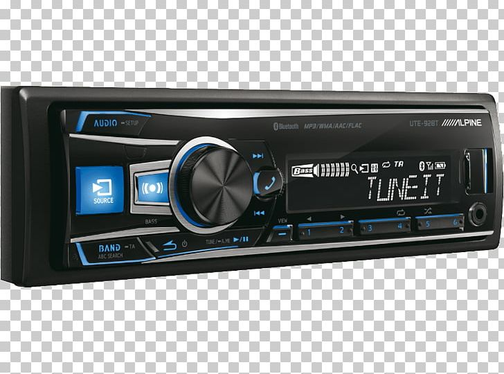 Bass head car audio clipart graphic royalty free stock Vehicle Audio ALPINE UTE-92BT Car Stereo Receiver Automotive Head ... graphic royalty free stock