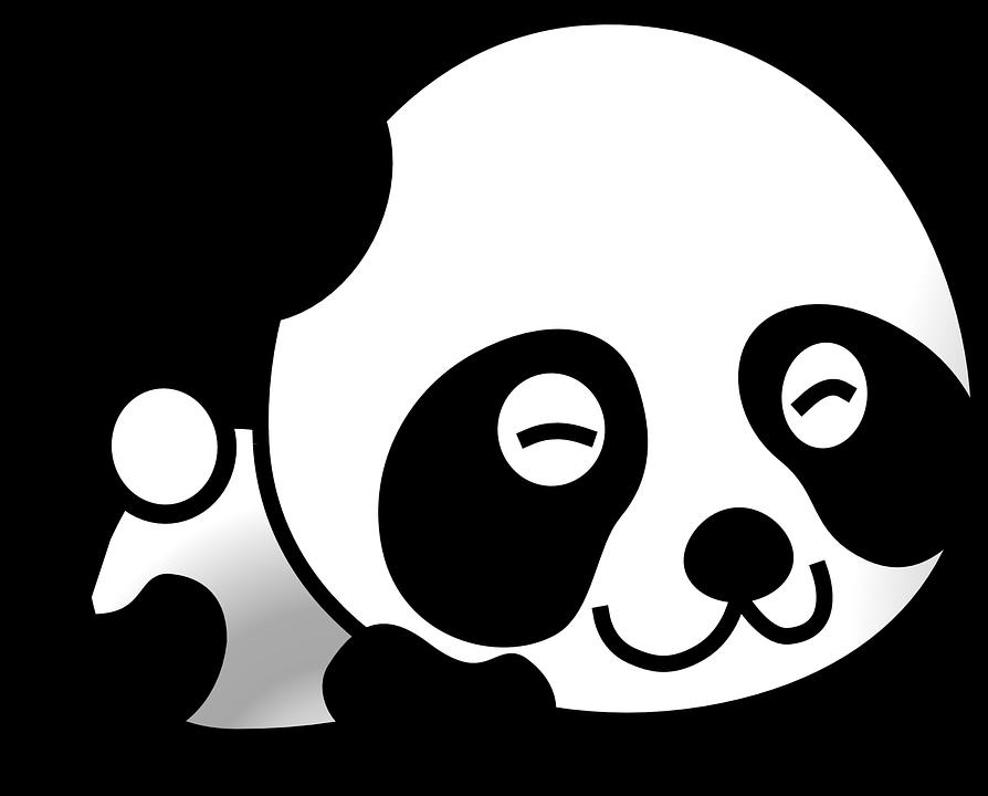 Basset and pumpkin black and white clipart png free stock Imagem gratis no Pixabay - Panda, Panda Gigante, Urso, Animal ... png free stock