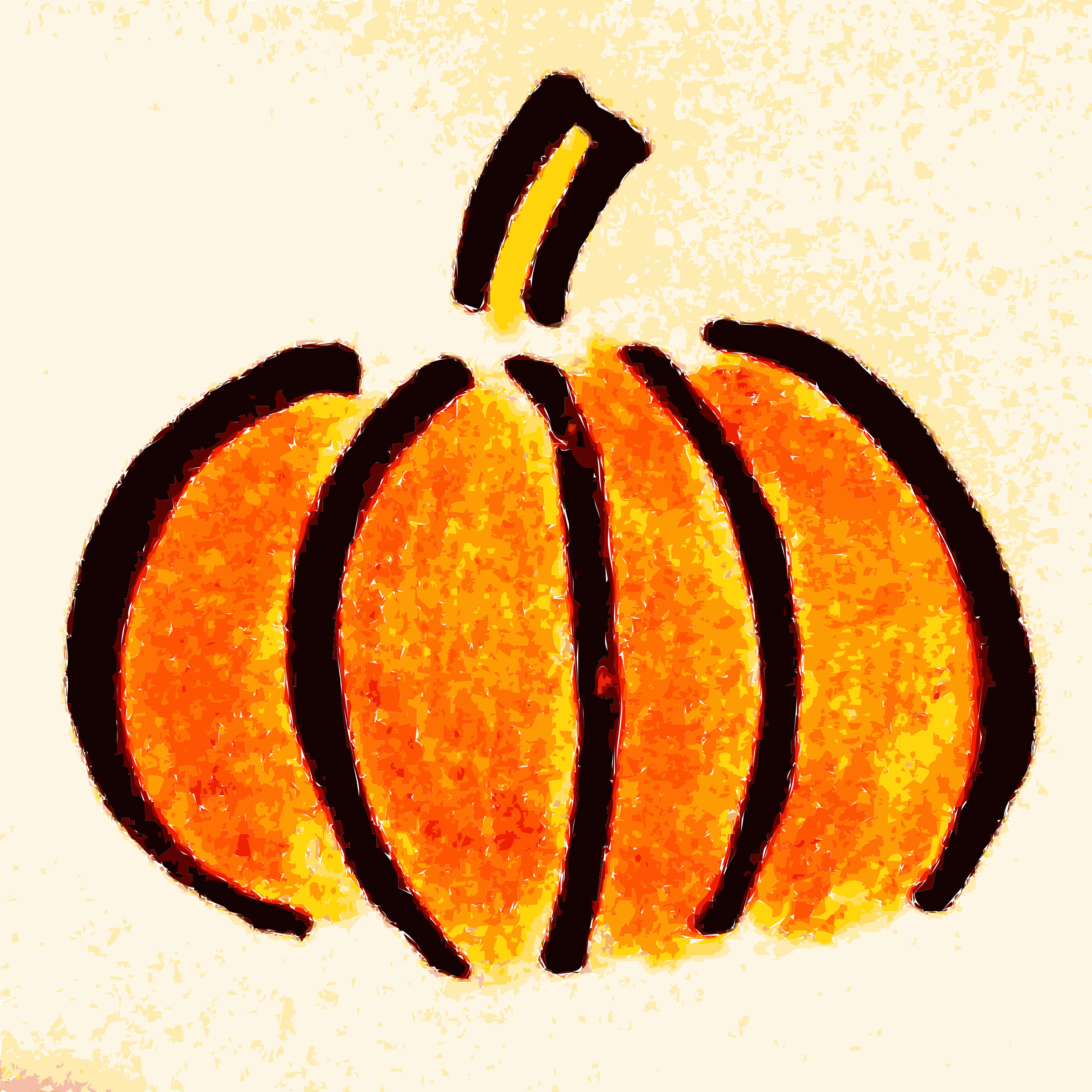 Pumpkin wallpaper clipart picture stock Clipart - Hand drawn Pumpkin Clipart picture stock
