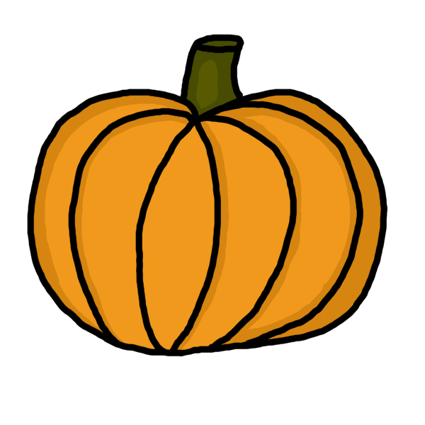 Free gold pumpkin clipart graphic transparent library Free pumpkin clipart images 2 - Clipartix graphic transparent library