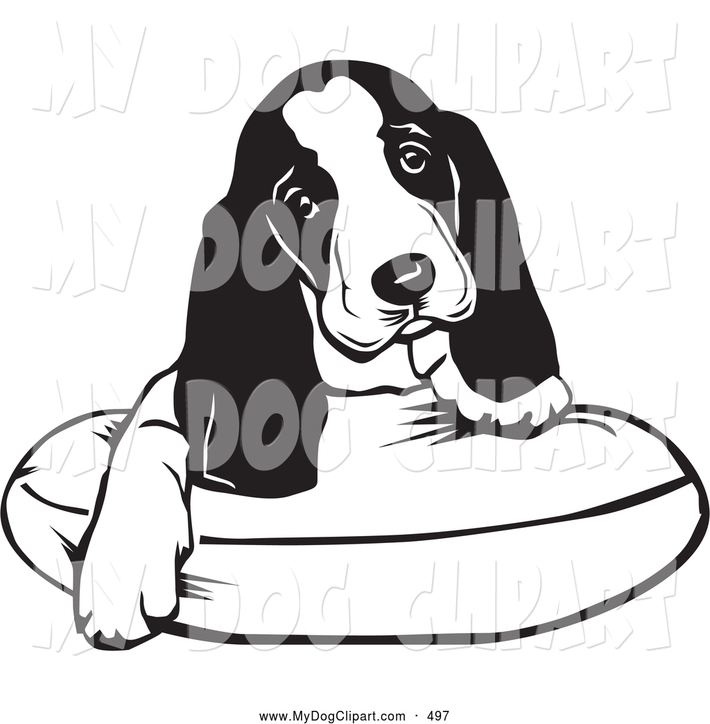 Basset hound clipart free back and white clip library Hound Dog Clipart | Free download best Hound Dog Clipart on ... clip library