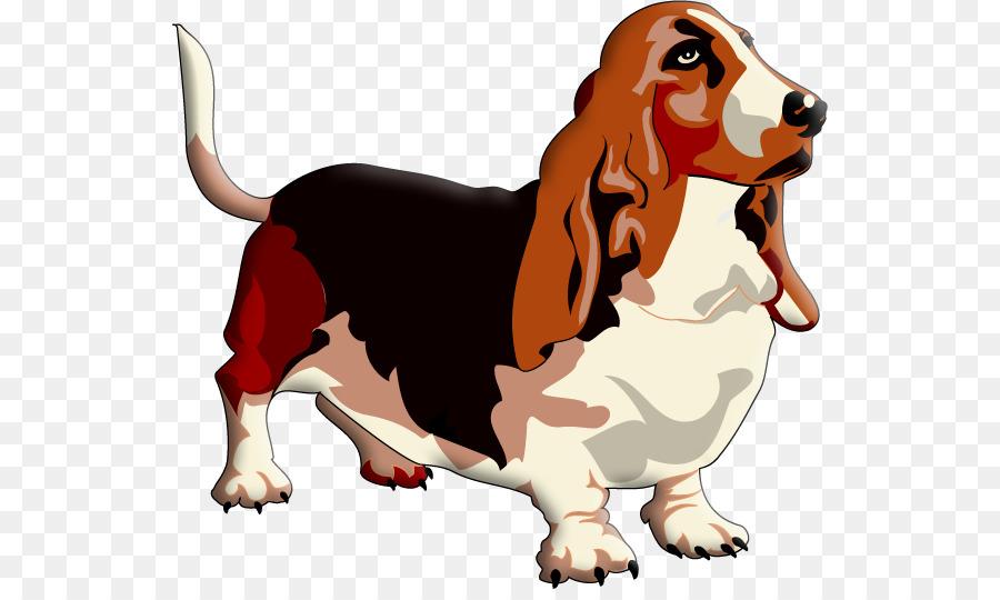 Basset hound clipart free download banner freeuse Dog Paw png download - 591*530 - Free Transparent Basset Hound png ... banner freeuse