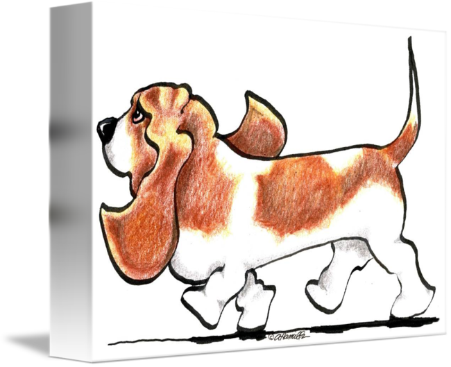 Hound dog clipart jpg free Basset Hound Clipart at GetDrawings.com | Free for personal use ... jpg free