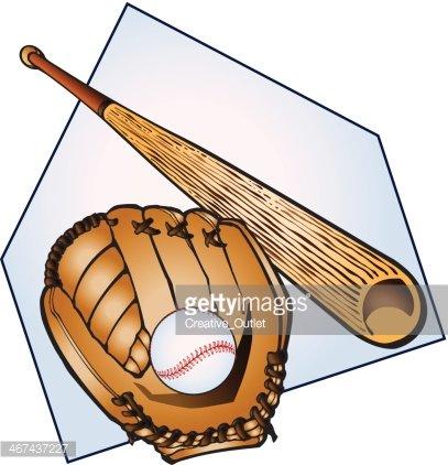 Bat and glove clipart clip art transparent Baseball Bat Glove C premium clipart - ClipartLogo.com clip art transparent