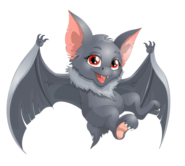 Clipart halloween bat picture royalty free download Transparent Halloween Bat Cartoon PNG Clipart | Halloween ... picture royalty free download