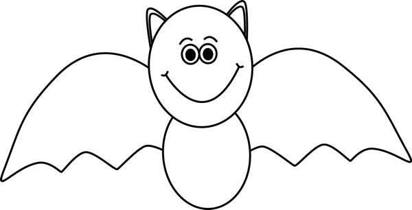 Bat clipart outline graphic transparent download Black and White Bat Clip Art - Black and White Bat Image...great ... graphic transparent download