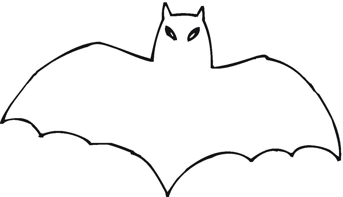 Bat clipart outline banner black and white stock Free Bat Outline, Download Free Clip Art, Free Clip Art on Clipart ... banner black and white stock