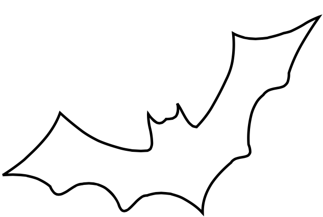 Bat clipart outline image transparent library Bat Outline - Google Drive | Halloween in 2019 | Bat outline ... image transparent library