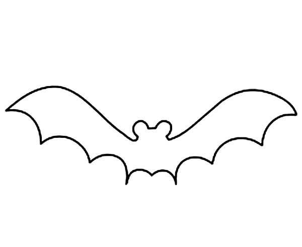 Bat clipart outline banner transparent stock Free Bat Outline, Download Free Clip Art, Free Clip Art on Clipart ... banner transparent stock