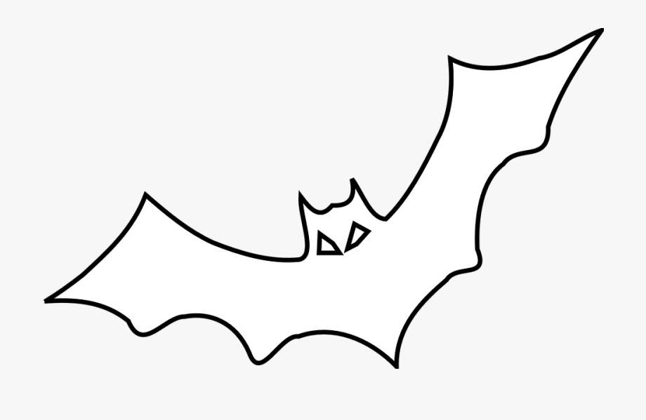 Bat clipart outline clipart Bat, Black, Outline, Bird, Fly - Bat Outline, Cliparts & Cartoons ... clipart