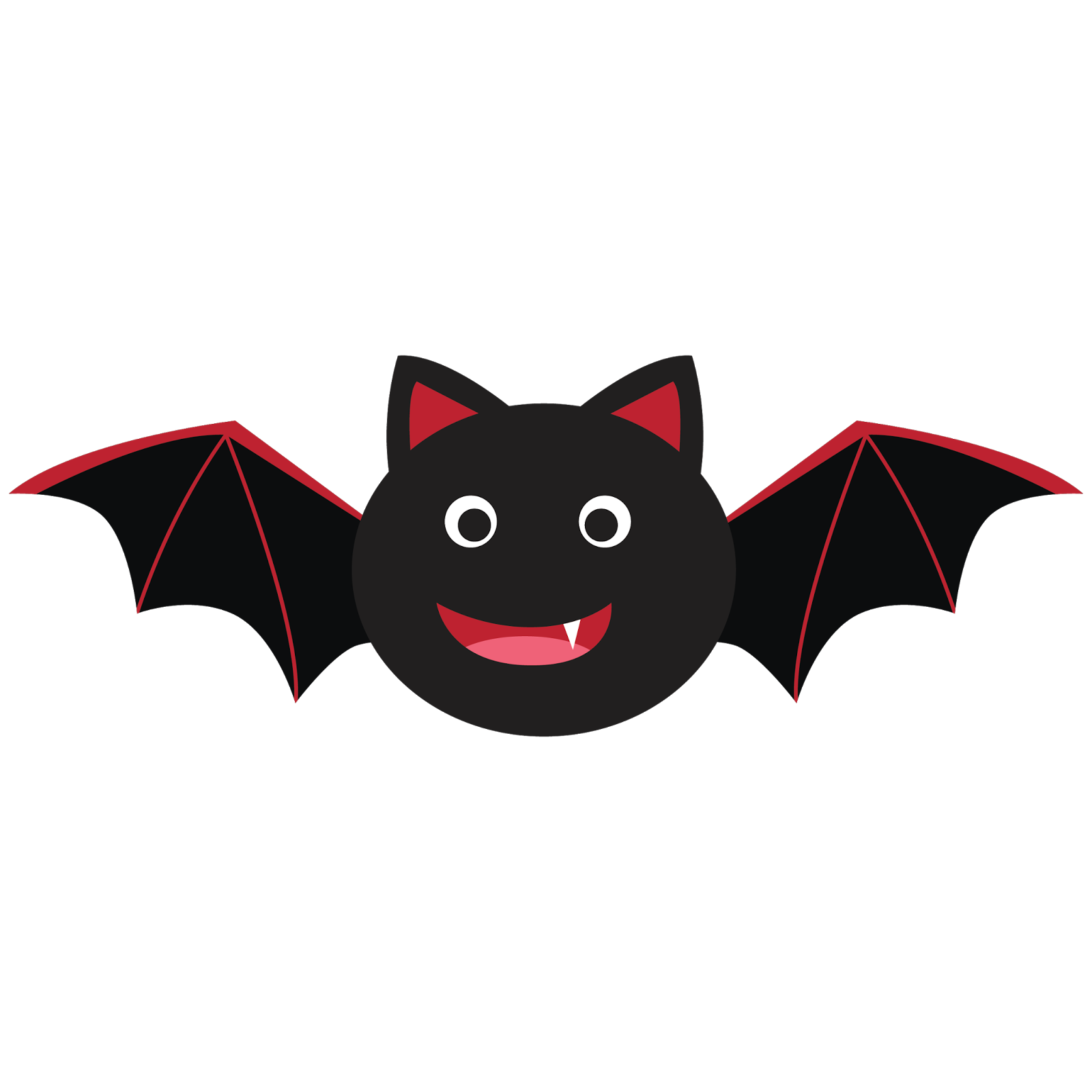 Bat clipart pictures graphic black and white stock Bat Clipart For My 15month Old Alfie I | Love bats! | Halloween ... graphic black and white stock