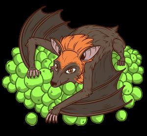 Bat eating bat clipart svg library download Collection of 14 free Bat clipart fruit bat bill clipart dollar sign ... svg library download