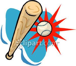Bat hitting a baseball clipart image transparent download Bat Hitting Baseball Clipart image transparent download