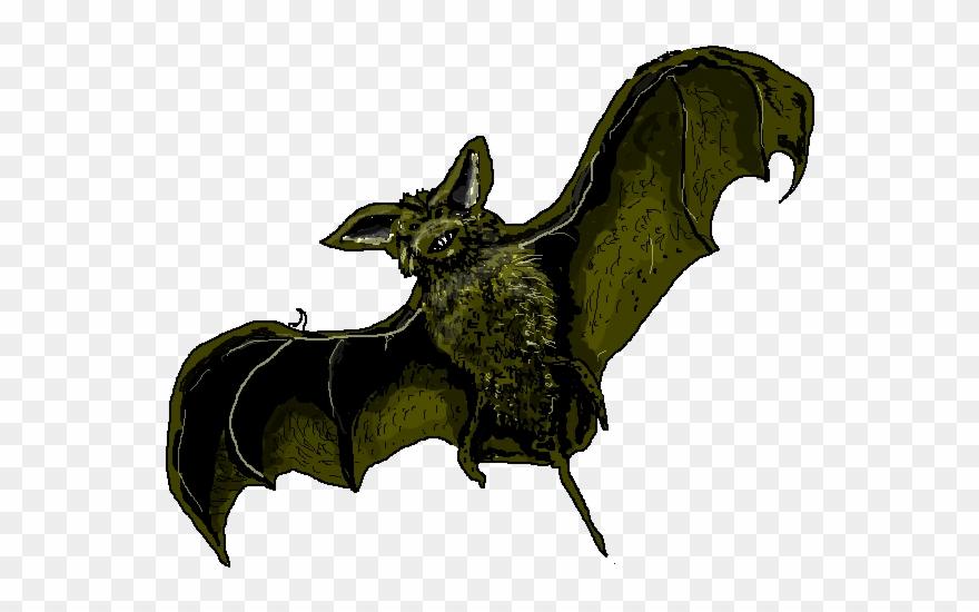 Bat realistic clipart image royalty free library Bat Clipart Realistic - Png Download - Clipart Png Download ... image royalty free library