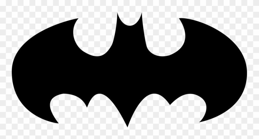 Bat symbol clipart graphic library Bat With Open Wings Logo Variant Comments - Batman Symbol Clipart ... graphic library