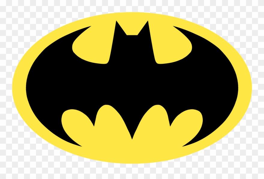 Bat symbol clipart graphic black and white download Joker Bat Signal Robin Transprent Png Batsignal - Logo Batman Png ... graphic black and white download
