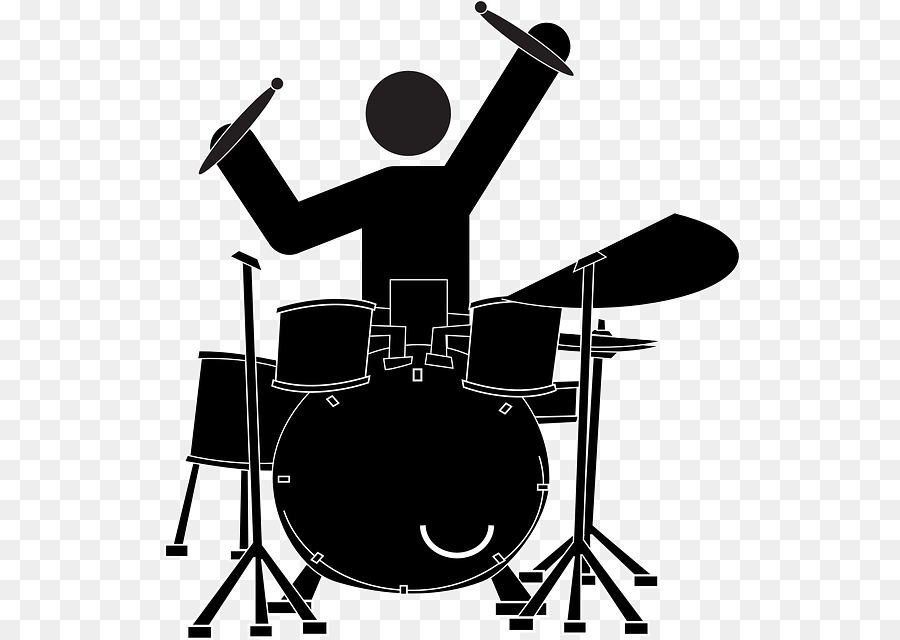 Baterias clipart graphic stock Love Black And White clipart - Tshirt, Drum, Music, transparent clip art graphic stock
