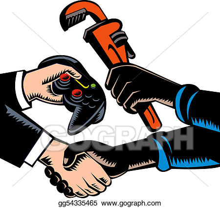 Batering clipart clip royalty free Clipart - Barter trading. Stock Illustration gg54335465 - GoGraph clip royalty free