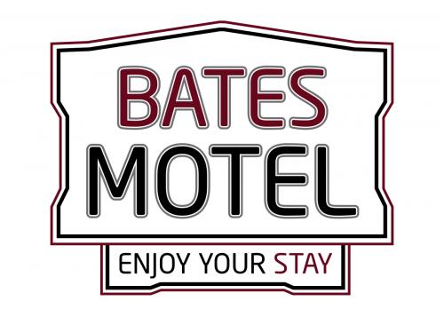 Bates motel clipart graphic black and white stock Bates motel logo png 5 » PNG Image graphic black and white stock