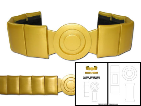 Batgirl utility belt clipart png stock Template for Damian Wayne Robin Utility Belt stock