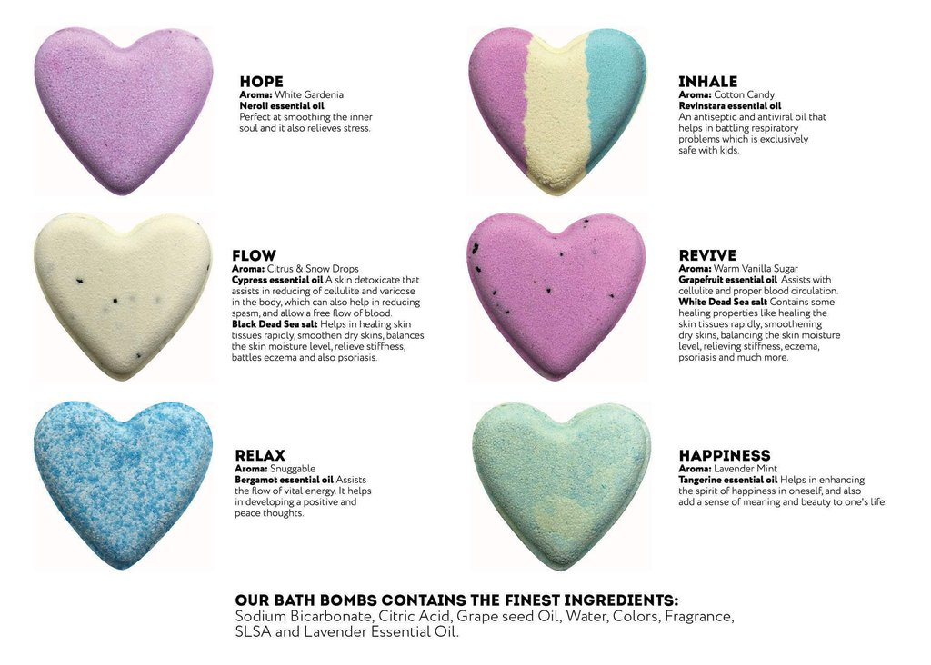 Bath 10 cents clipart banner black and white stock CBD Bath bombs set- Heart shape- 6 pack banner black and white stock