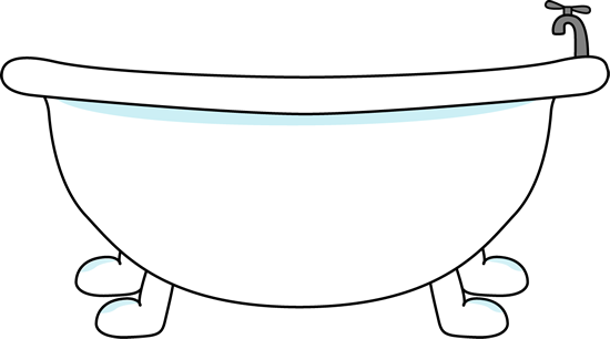 Bath 10 cents clipart clip transparent download bathtub clipart | Bathtub Clip Art Image - large with bathtub with a ... clip transparent download