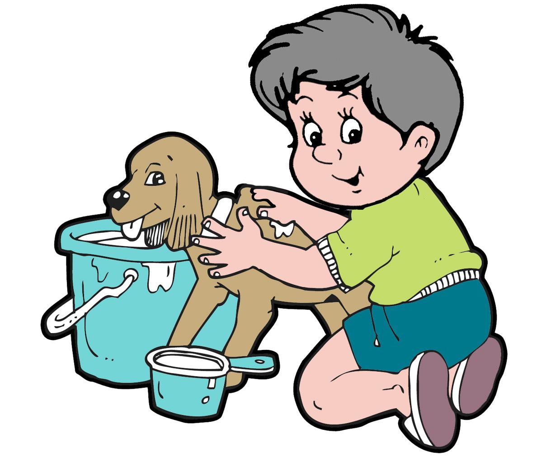 Bath dog clipart svg freeuse Dog taking a bath clipart - Clip Art Library svg freeuse
