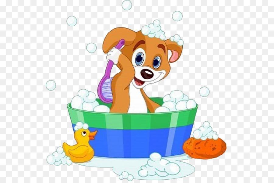Bath dog clipart png Soap Bubble png download - 600*600 - Free Transparent Dog png Download. png