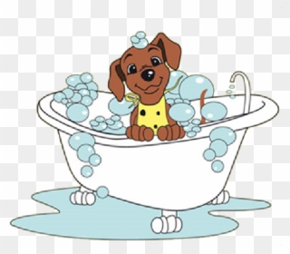 Bath dog clipart clip royalty free library Free PNG Dog In Bath Clip Art Download - PinClipart clip royalty free library