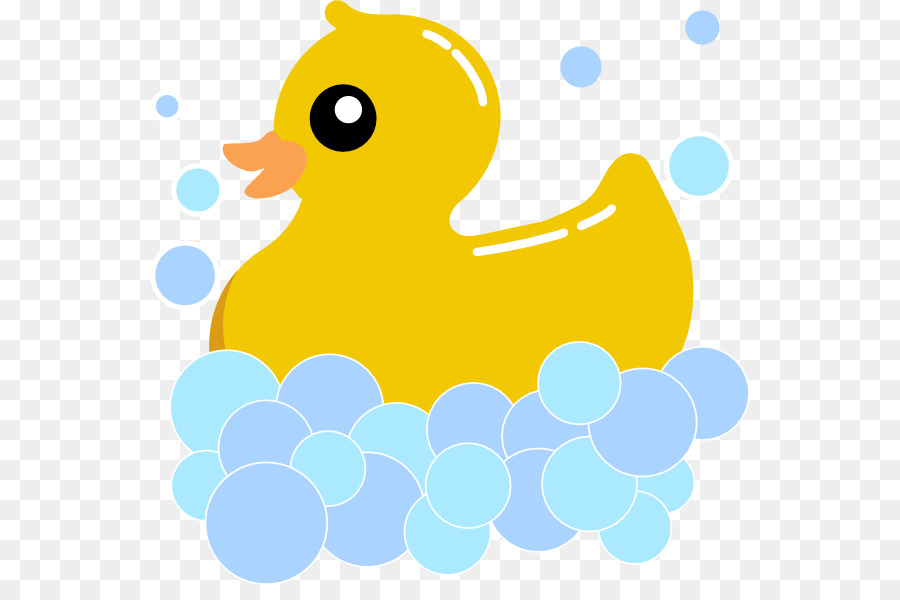 Bath duck clipart jpg black and white Bathroom Cartoon png download - 600*585 - Free Transparent Rubber ... jpg black and white