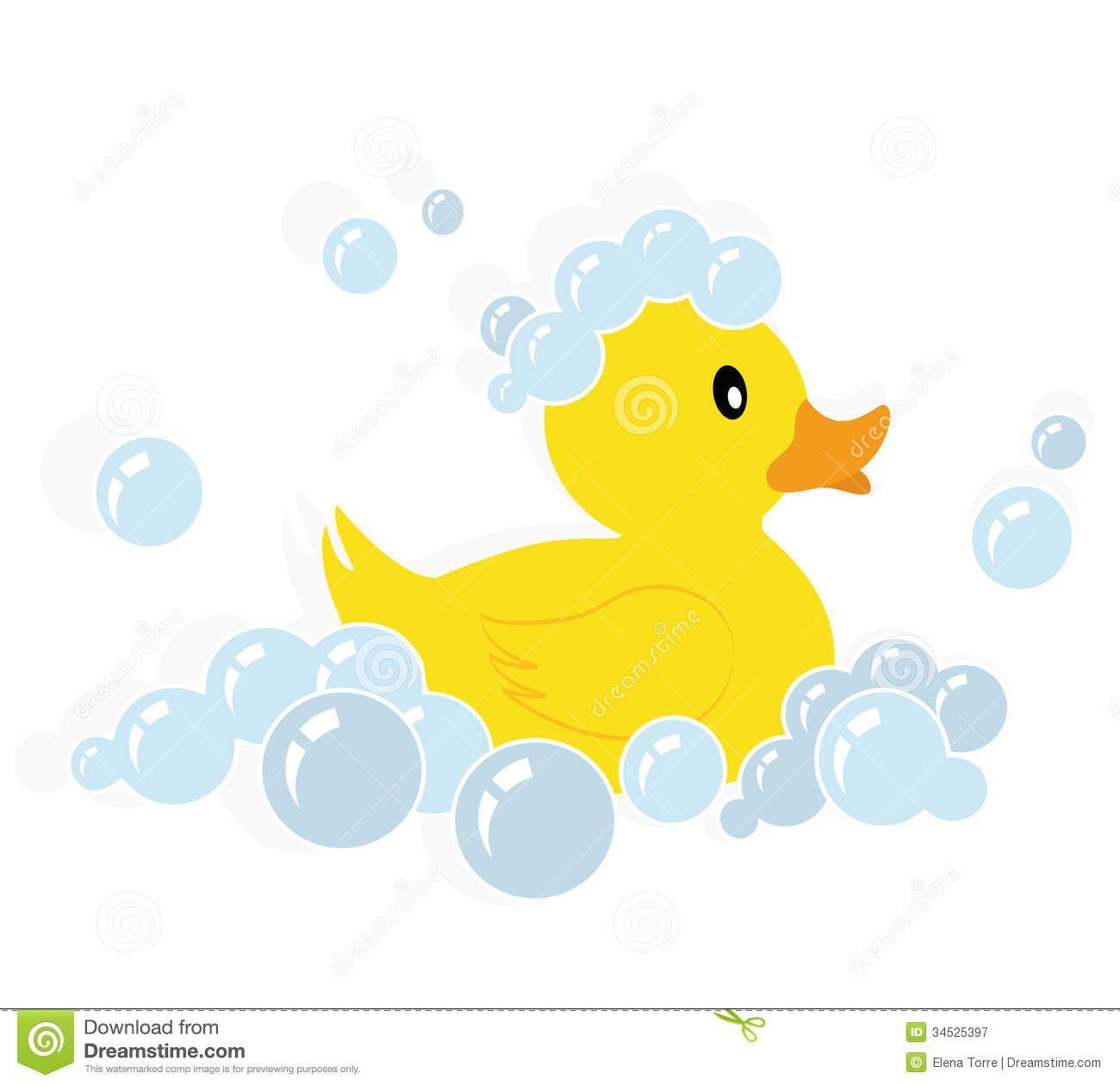 Vector duck clipart