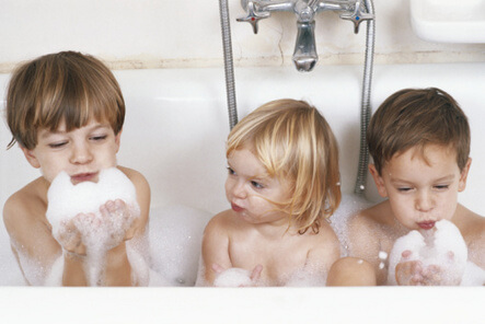 Bath in urine clipart banner transparent download Bubble Baths – DrGreene.com banner transparent download
