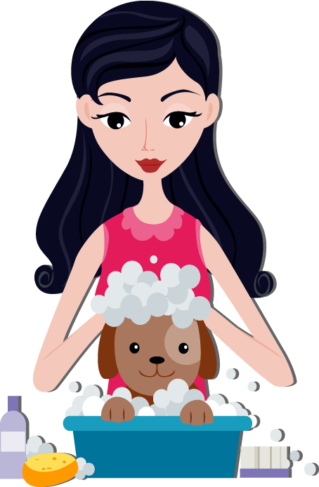 Washing dog clipart clipart royalty free stock The Ultimate Guide to Dog Cleaning and Grooming clipart royalty free stock