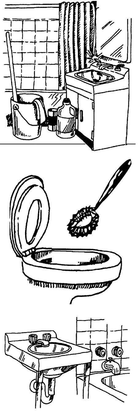 Bathroom clean up clipart clipart library library Cleaning the Bathroom | Mississippi State University Extension Service clipart library library