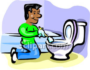 Bathroom clean up clipart jpg library library Kids Cleaning Bathroom Clipart | Clipart Panda - Free Clipart Images jpg library library