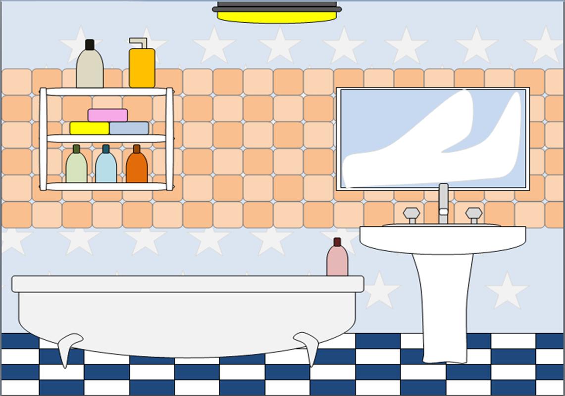 Clipart of a bathroom clip art freeuse library Bathroom 2   Free Images at Clker.com - vector clip art online ... clip art freeuse library