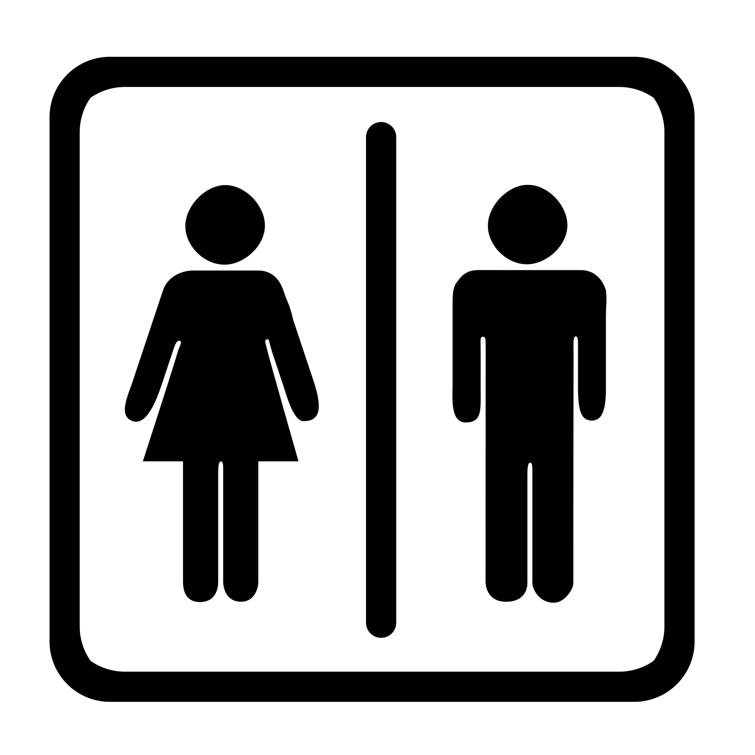 Bathroom door sign cliparts svg freeuse 44+ Clipart Bathroom | ClipartLook svg freeuse