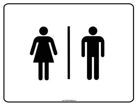 Bathroom door sign cliparts png royalty free stock Free Printable Bathroom Signs - Cliparts.co | Bed room ideas in 2019 ... png royalty free stock
