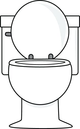 School bathroom line clipart black and white free library Collection of Bathroom clipart | Free download best Bathroom clipart ... free library