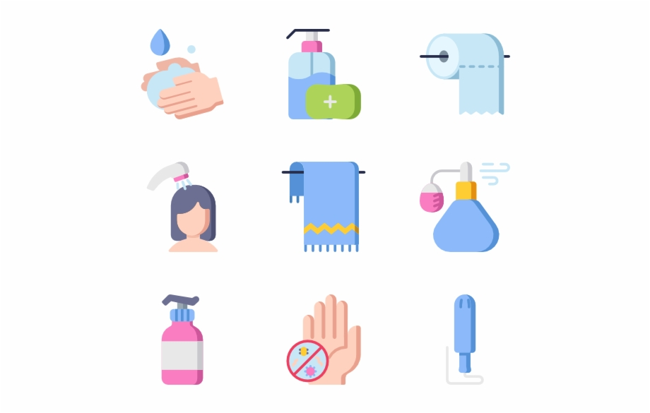 Bathroom routine clipart graphic free Home Decoration Bathroom - Hygiene Routine Free PNG Images & Clipart ... graphic free