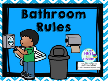 Bathroom rules clipart picture free library School Bathroom Rules Worksheets & Teaching Resources | TpT picture free library